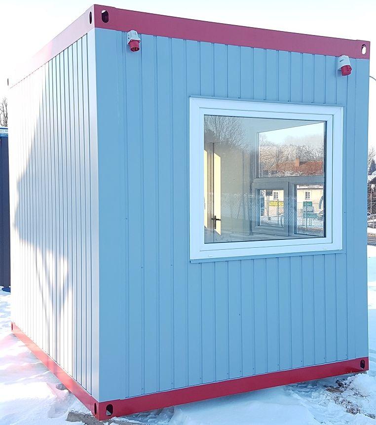 Pförtnerhaus Bürocontainer