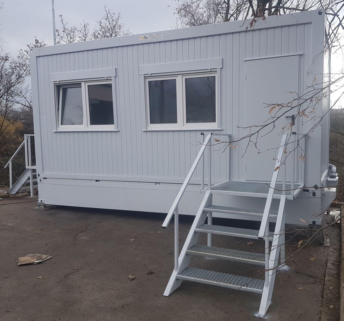 Bürocontainer Wohncontainer mit Saniärteil -Teil