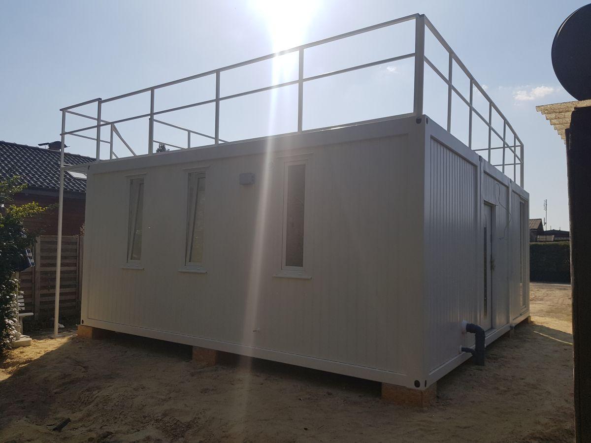Neu Wohncontainer Anlage