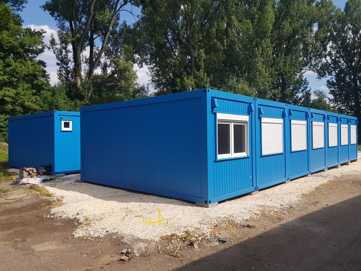 Neu Containeranlage